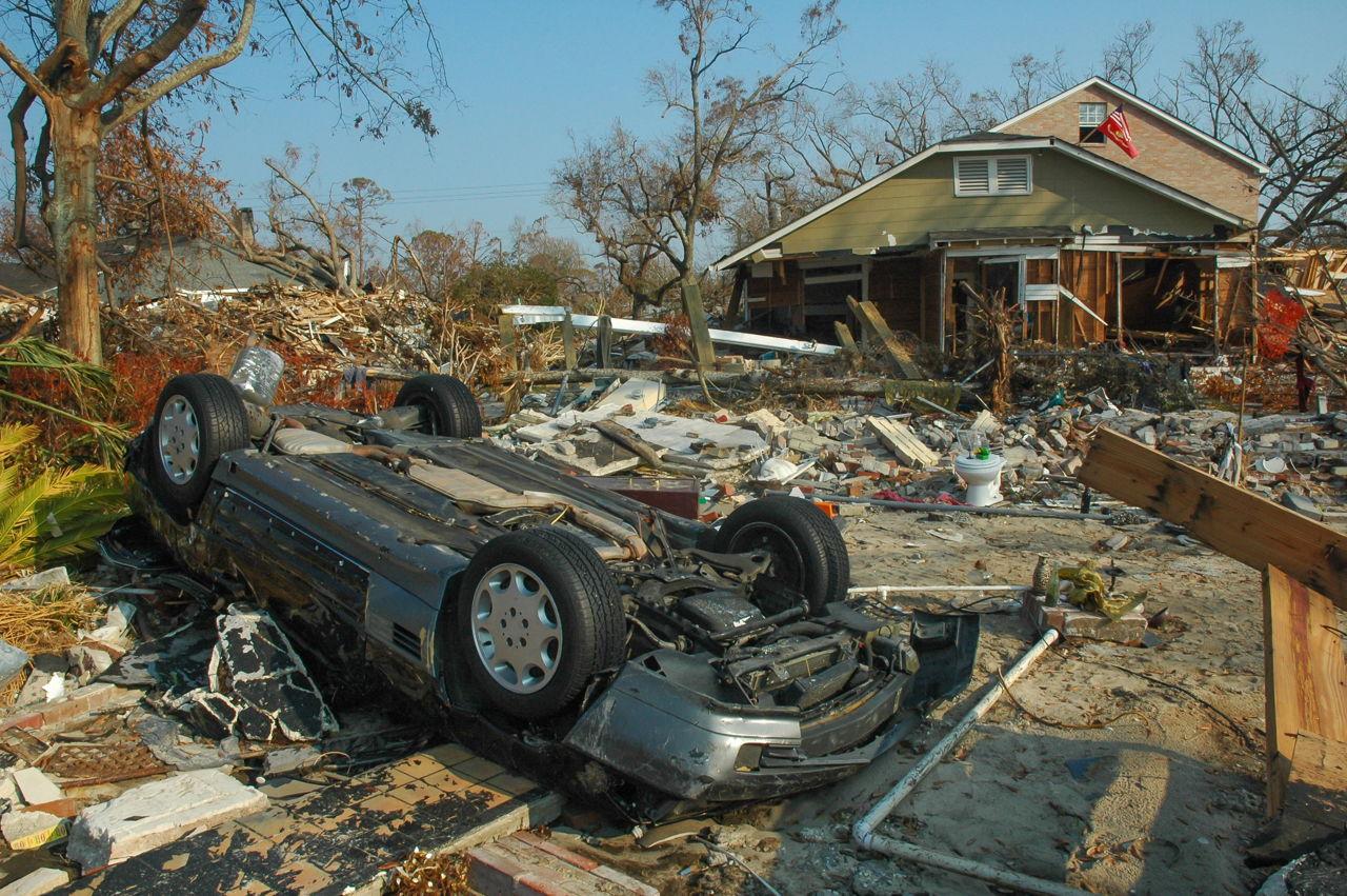 Hurricane Sally Damage