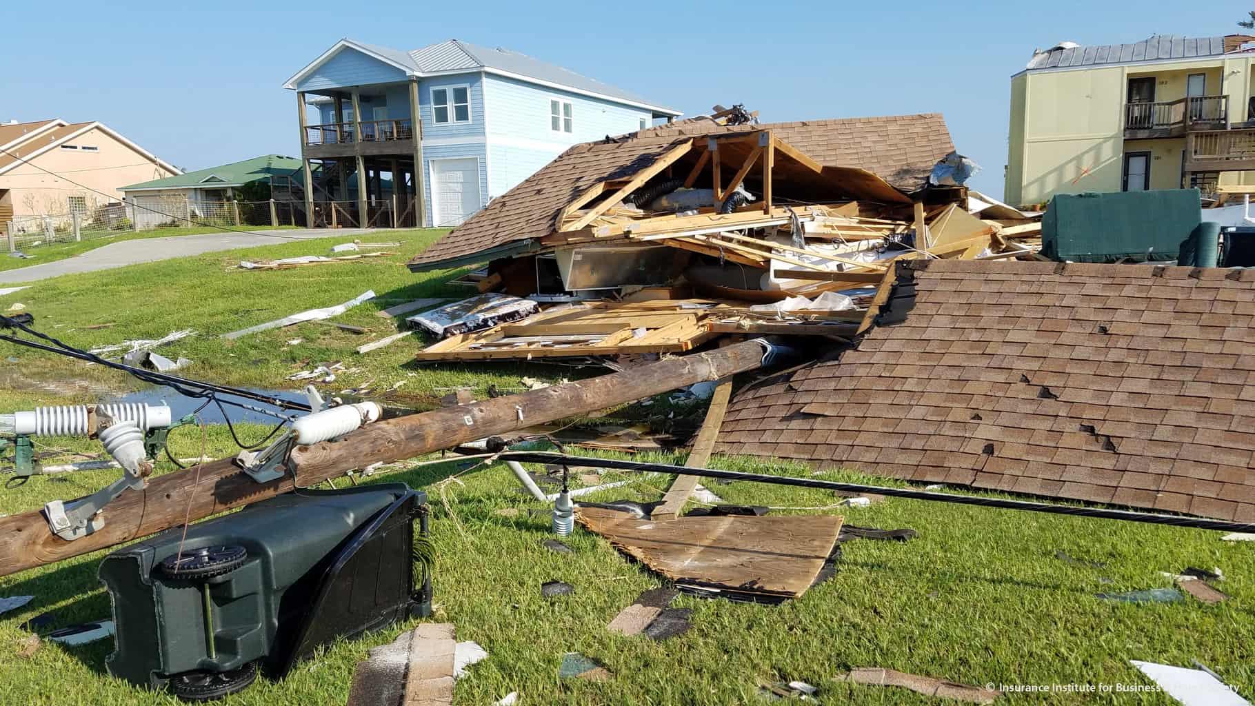 Hurricane Harvey Damage at Rockport home