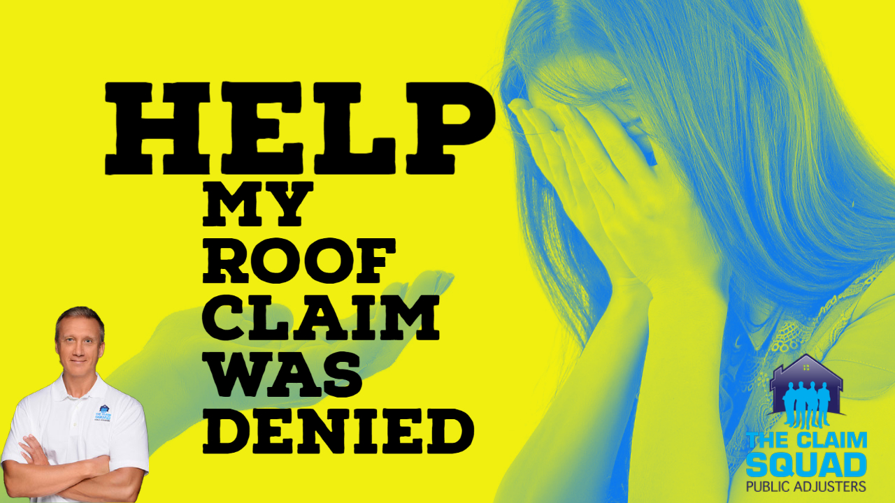 roof claim denied