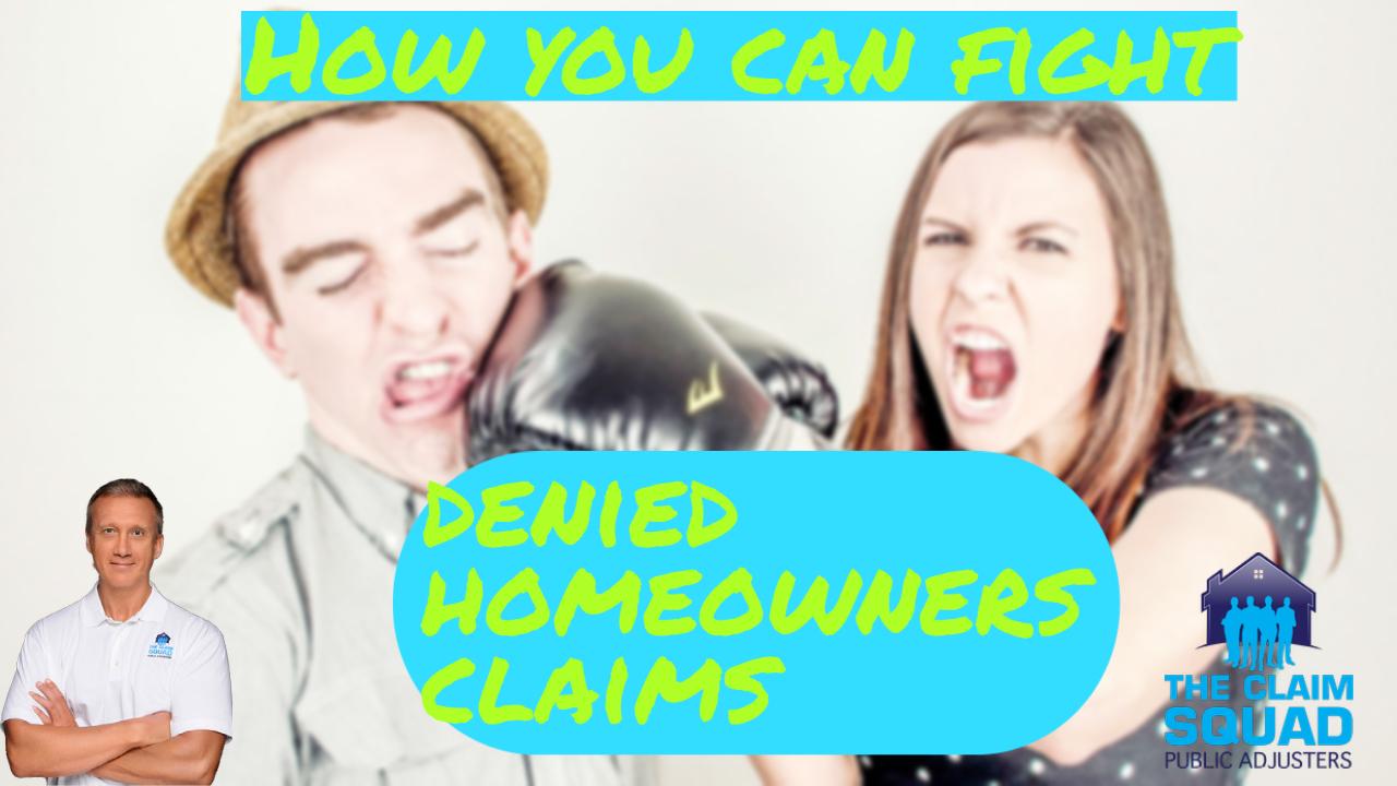 Denied Home Claim